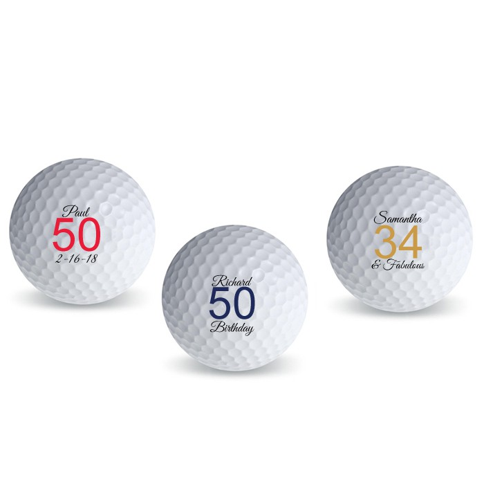 All Personalized Golf Ball favors